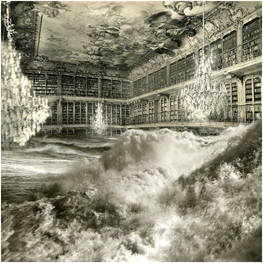 COSMOLOGY, 2013. DIGIGRAPHIE SOBRE PAPEL BARITADO DE 160 x 160 cm. EDICIÓN DE 5 EJEMPLARES