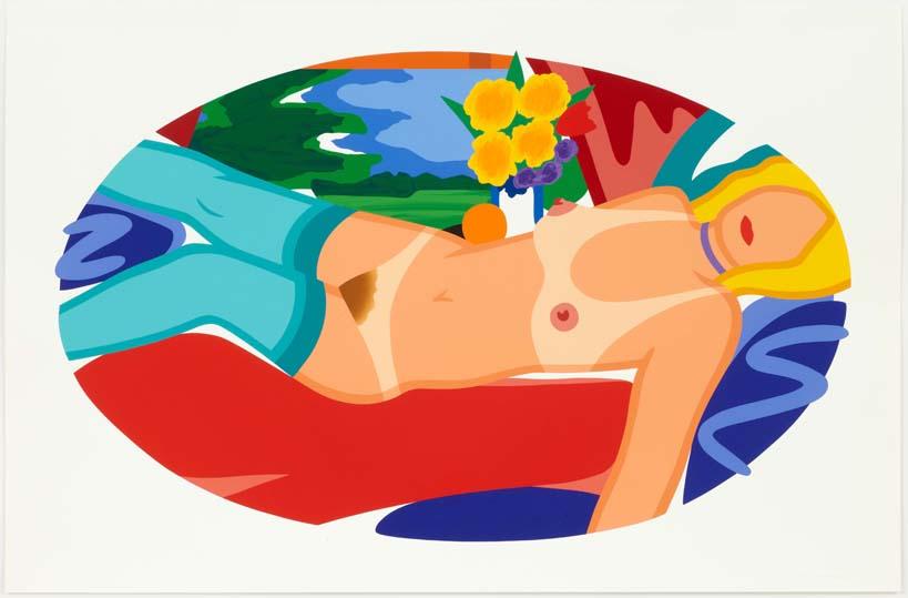 Beautiful bedroom Kate, 1998. Serigrafía con 48 colores en un tamaño de 88.9 x 135.9 cm. Edición de 90 ejemplares