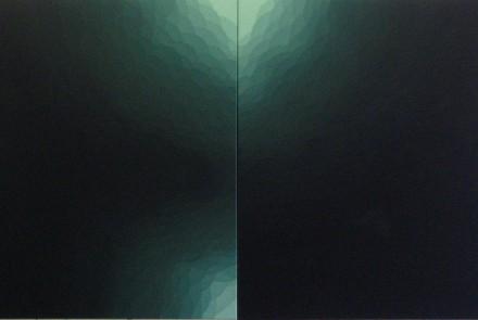 St, 2014. Acrílico sobre lienzo. 125 x 210 cm.