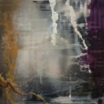 En una fracción (Frost frames) VII. Mixta sobre aluminio. 122 x 180 cm.