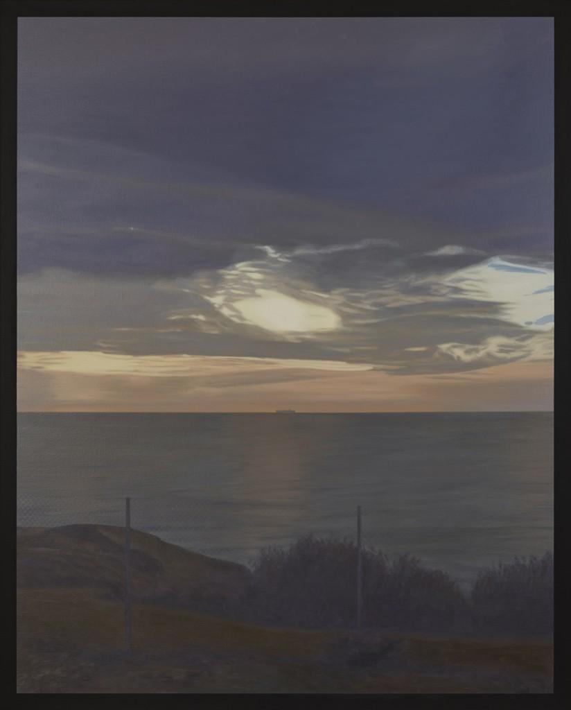 Europa (homenaje a Richter), 2017. Óleo sobre lienzo de 162 x 130 cm.