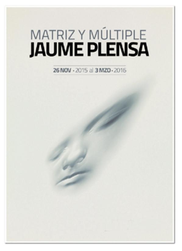 Cartel Jaume Plensa