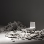 ST I, de la serie: Soledades, 2014. Impresión digital de tintas pigmentadas sobre papel de algodón. 100 x 210 cms. Tirada: 3