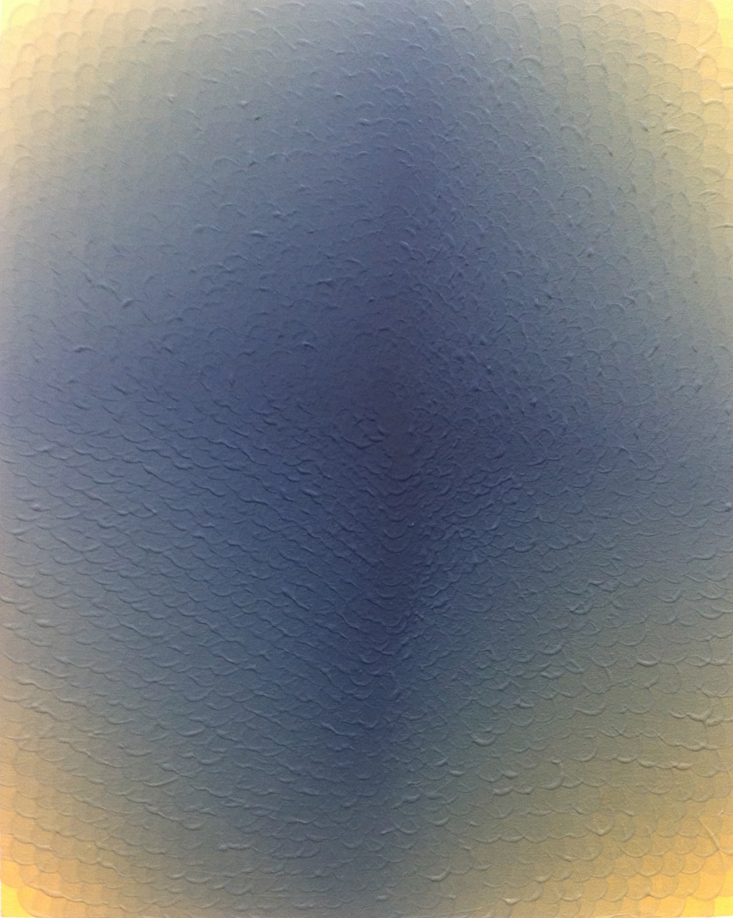 St, 2016. Acrílico sobre tabla. 50 x 40 cm.
