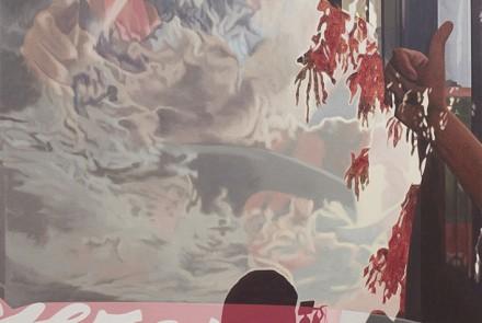 El sueño de la razón II, 2018. Óleo sobre lino de 149 x 112 cm.