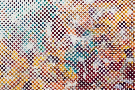 Muro #1, 2018. Óleo sobre lienzo. 200 x 142 cm.