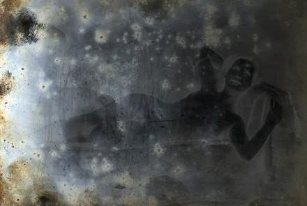 Trauma #4116, 2018. Impresión directa sobre Duratrans en caja de luz LED. 100 x 150 cm. Edición de 5